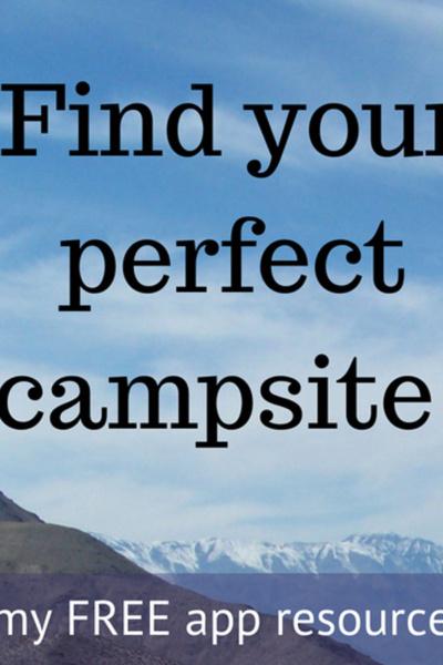 perfect campsite pin