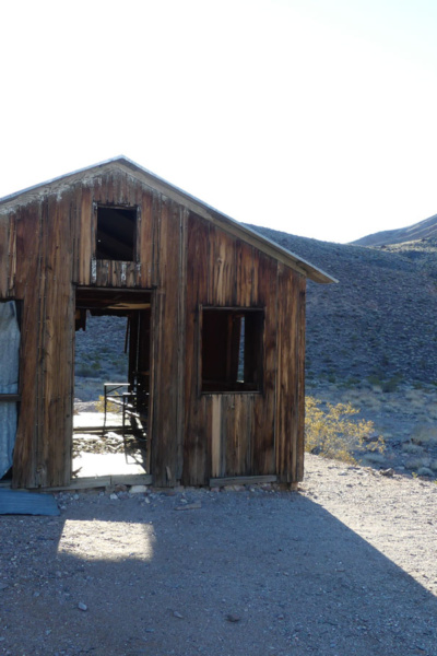 Inyo Mine ghost town structure