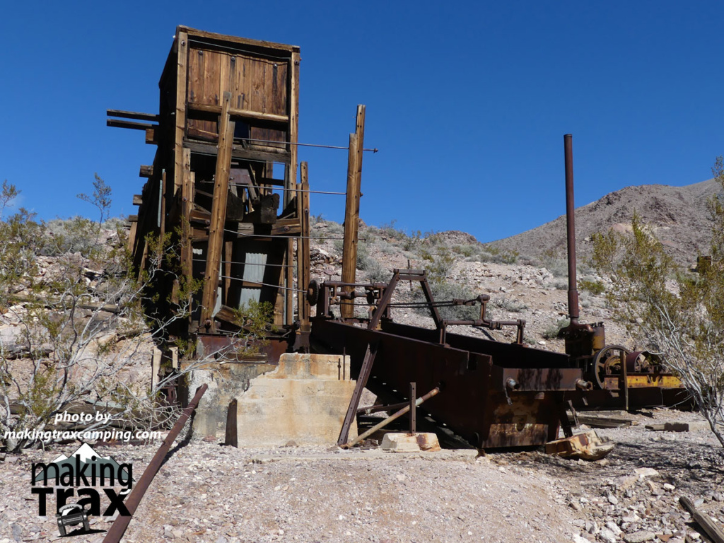 Inyo mine equipment