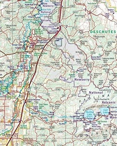 Oregon map area