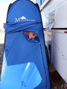 shower pop-up tent