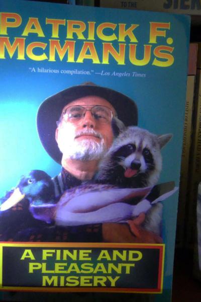 Patrick McManus book cover