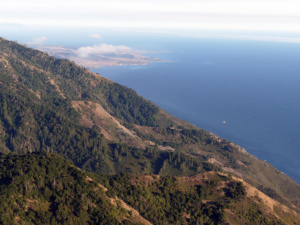Pacific Ocean from San Martin Top