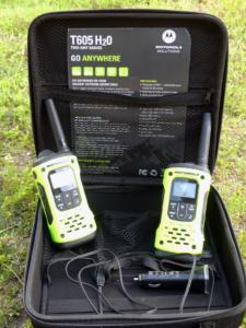 Motorola radio set