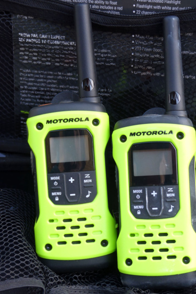 Motorola radios to talk where no cell reception