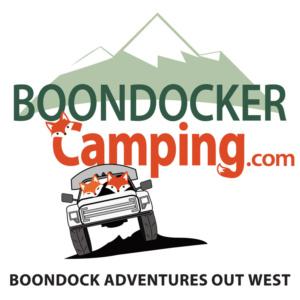 Boondocker Camping logo and decal