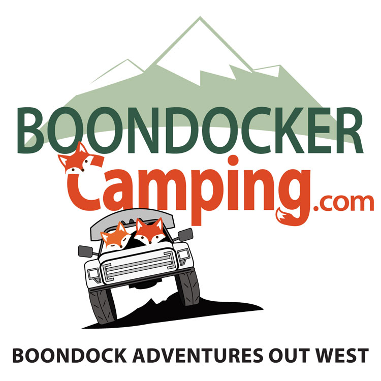 Boondocker Camping logo and decal