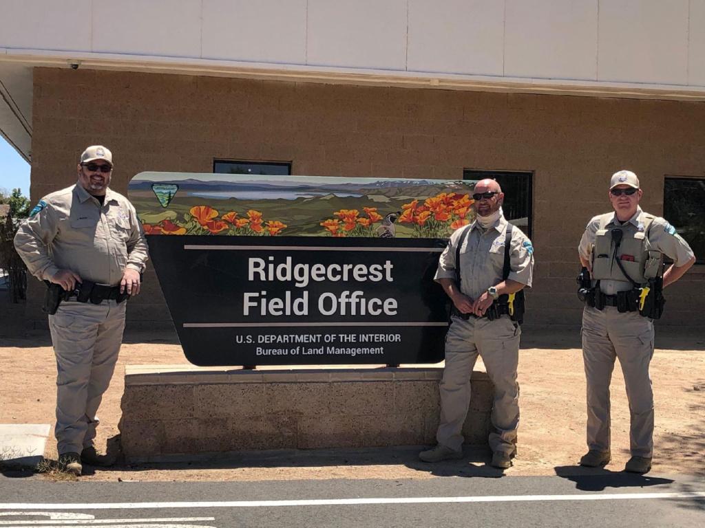 BLM Rangers from Ridgecrest