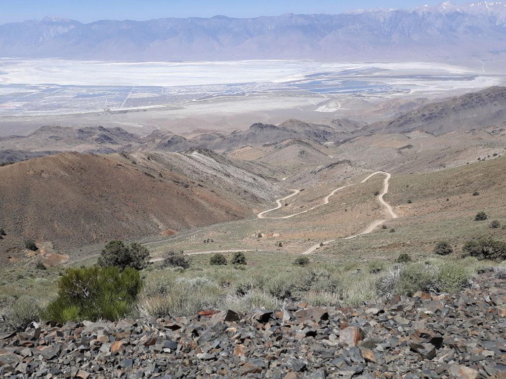 View of Inyo Mountain road