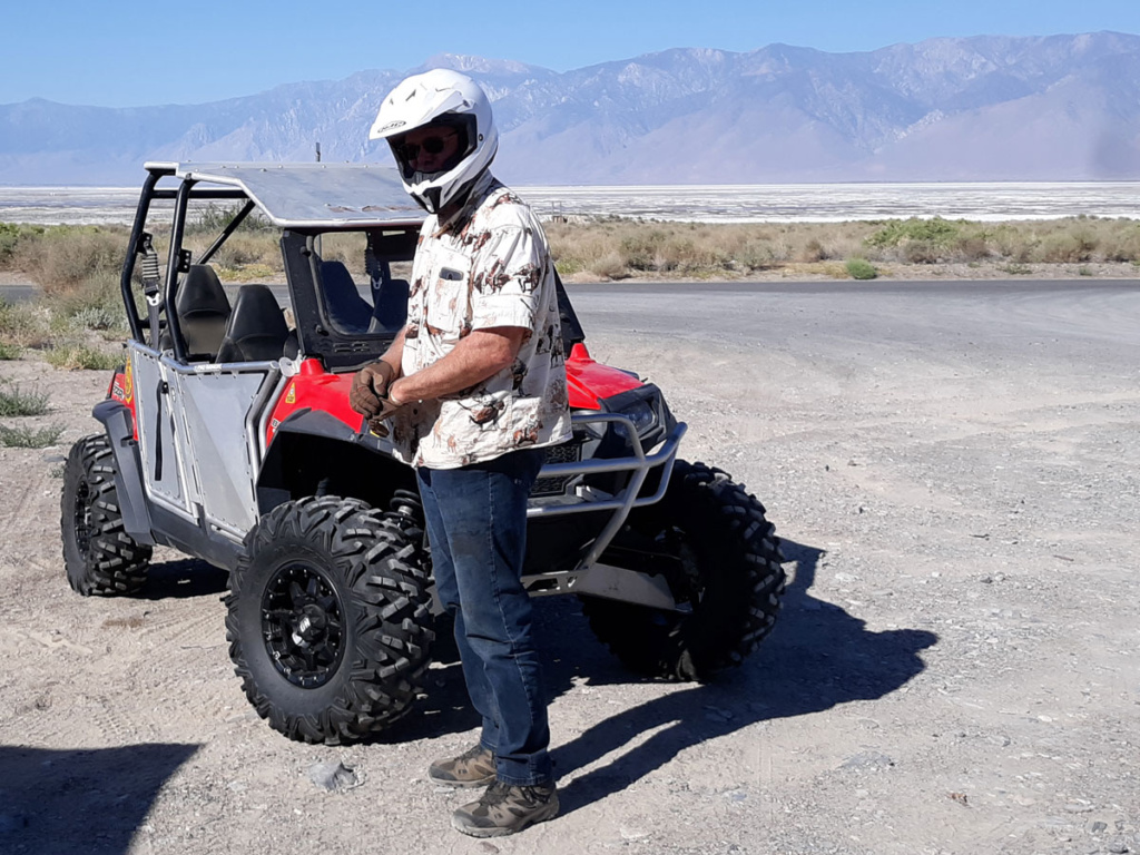 BLM Ranger recovery vehicle